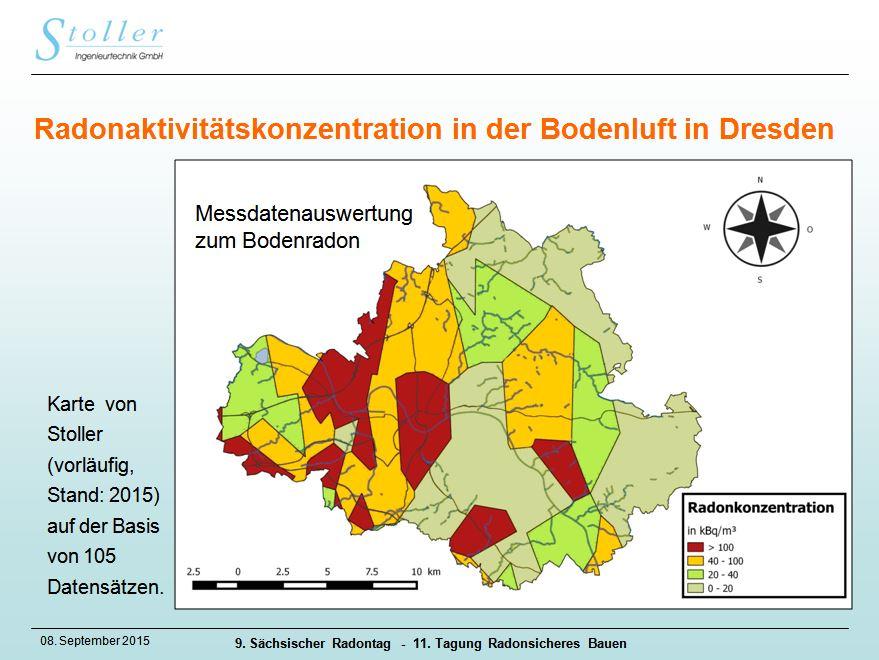 radonbelastung dresden karte Stoller Verwaltungs  und Management Gesellschaft mbH   Radonkarten